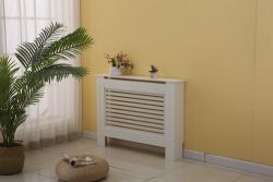 WestWood MDF Radiator Cover Small White