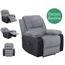 WestWood Electric Recliner Sofa WW-RS-06 Grey