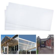 BIRCHTREE Polycarbonate Sheet 4MM 14PCS WW-PS01 Clear