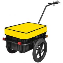 BIRCHTREE Cargo Trailer 70L FH-CT01 Yellow