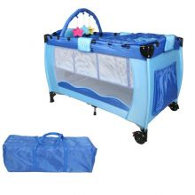 GALACTICA Baby Cot Bed BCB01 Blue