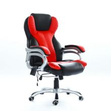 WestWood 6 Point Massage Office Chair MC8074 Black and Red