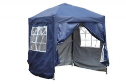BIRCHTREE Pop Up Gazebo 2X2M Blue