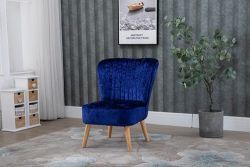 WestWood Crush Velvet Accent Chair 1300 Navy
