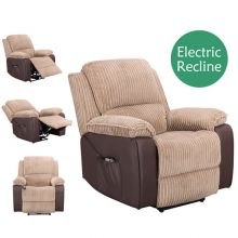 WestWood Electric Recliner Sofa WW-RS-06 Brown