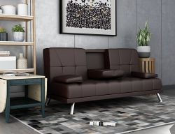 WestWood Manhattan Sofa Bed Brown
