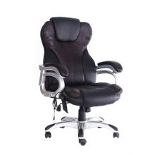 WestWood 6 Point Massage Office Chair MC8074 Black and Brown