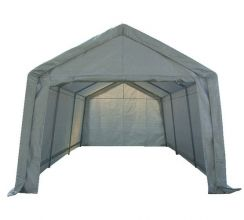 BIRCHTREE Carport 3m x 6m x 2.6m White