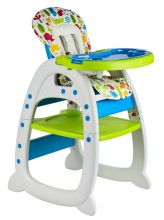 GALACTICA Baby Highchair 3in1 Green