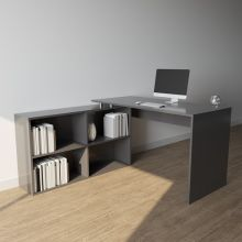 WestWood Computer Desk CD12 Grey
