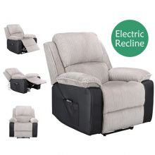 WestWood Electric Recliner Sofa WW-RS-06 Light Grey