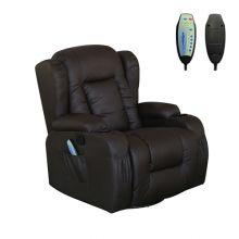 WestWood Massage Leather Sofa MLS-02 Brown