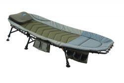 CARPZILLA Fishing Bed with Side Tool Bag Dark Green FB-008
