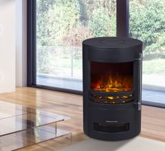 HEATSURE Fireplace Heater 189 Black
