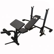 FIT4YOU Weight Bench Press DW-1323 Black
