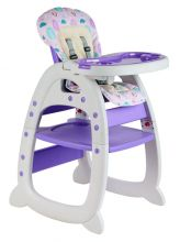 GALACTICA Baby Highchair 3in1 Purple