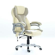 WestWood 6 Point Massage Office Chair MC8074 Cream