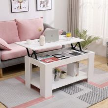 WestWood Lift Up Top Coffee Table WW-CT05 White