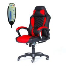 WestWood 6 Point Massage Office Chair MC09 Red and Black