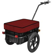 BIRCHTREE Cargo Trailer 70L FH-CT01 Red