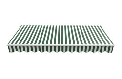 BIRCHTREE Awning Fabric Top Cover 3x 2.5m AC03 Green & White