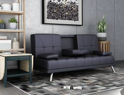 WestWood Manhattan Sofa Bed Black