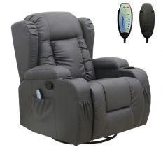 WestWood Massage Leather Sofa MLS-02 Grey