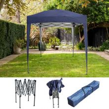 BIRCHTREE Gazebo Pop Up No Sidewalls 2X2M BT-PUG05 Blue