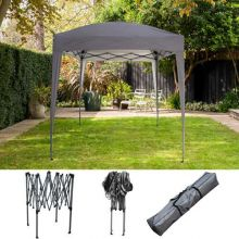 BIRCHTREE Gazebo Pop Up No Sidewalls 2X2M BT-PUG05 Grey