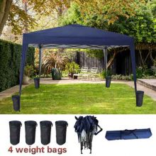 BIRCHTREE Pop Up Gazebo 3Mx3M No Side PUG02 Blue