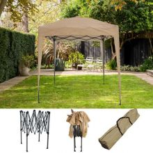BIRCHTREE Gazebo Pop Up No Sidewalls 2X2M BT-PUG05 Beige