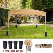 BIRCHTREE Pop Up Gazebo 3Mx3M No Side PUG02 Beige