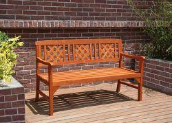 BIRCHTREE Wooden Garden Bench WGB01 Natural