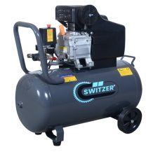SwitZer 2.5HP Air Compressor 50L AC001 Grey