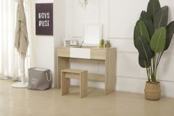 WestWood PB Dressing Table DT10 Oak and White
