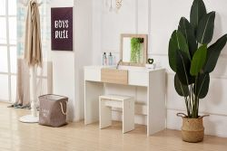 WestWood PB Dressing Table DT10 White And Oak