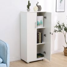WestWood Office Cupboard 3 Shelf OC01 White