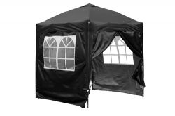 BIRCHTREE Pop Up Gazebo 2X2M Black