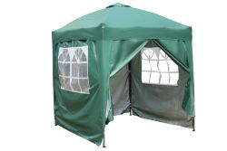 BIRCHTREE Pop Up Gazebo 2X2M Green