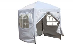 BIRCHTREE Pop Up Gazebo 2X2M White