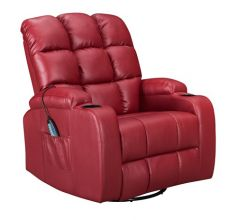 WestWood Massage Leather Sofa Electric WW-MLS12 Red