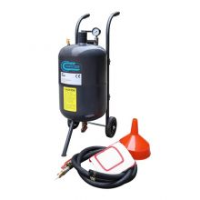 SwitZer 10 Gallon Sandblaster With Nozzle Pressure Gauge 2.5m Hose Filling Funnel