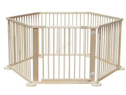 WestWood Foldable Wooden Baby Playpen 6 Side