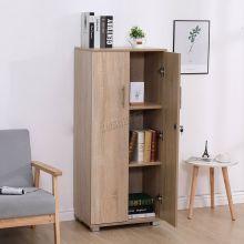 WestWood Office Cupboard 3 Shelf OC01 Oak