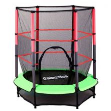 GALACTICA Trampoline Set 4.5FT Green